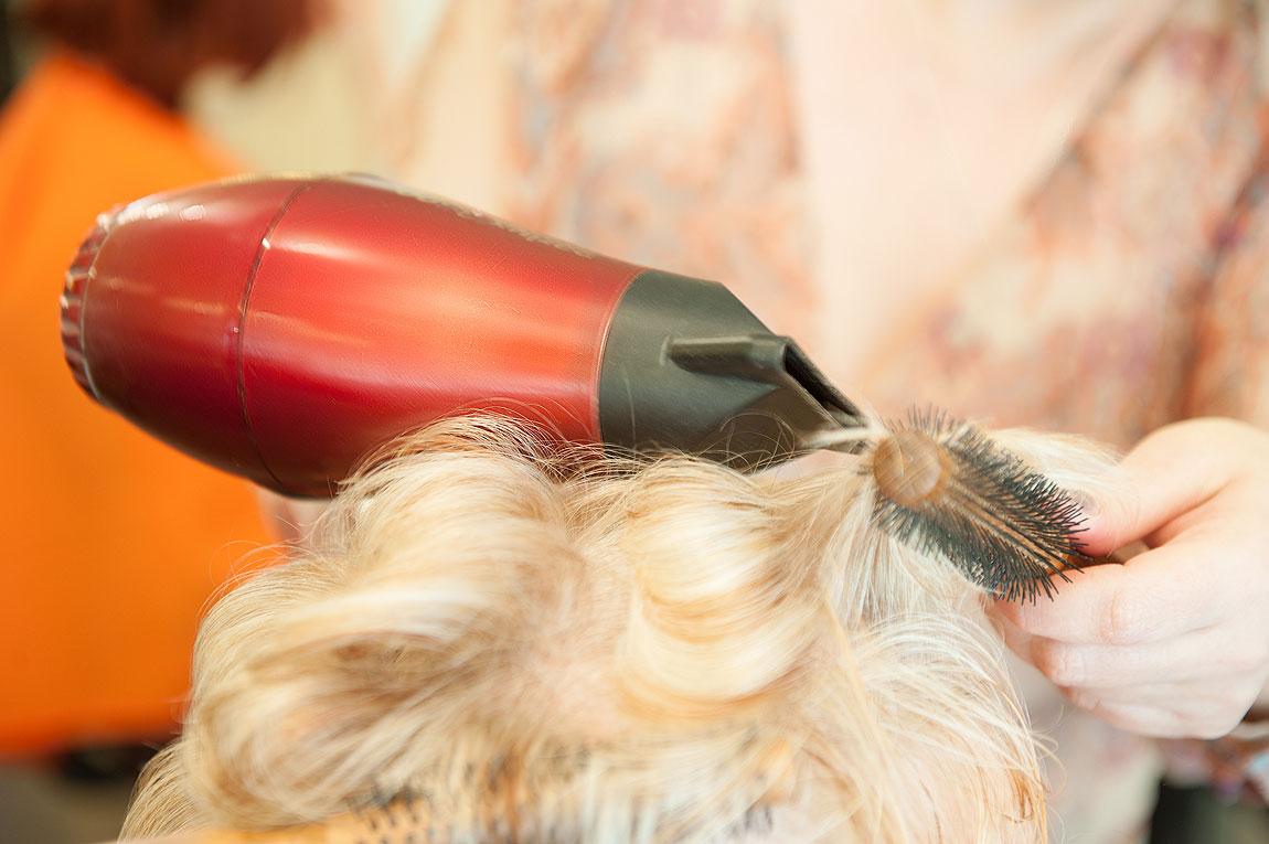Waschen, fönen, legen bei Friseur Siepert