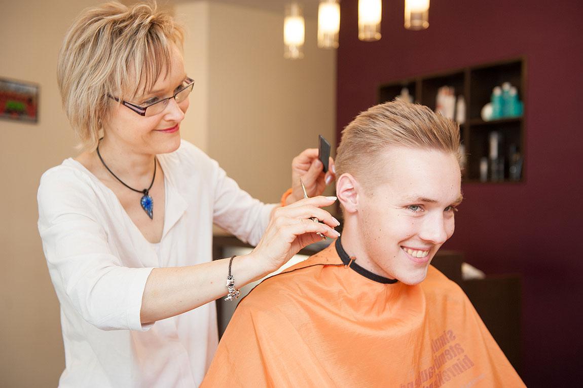 Herrenfrisur Friseur Siepert